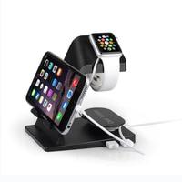 Itian Draagbare Desktop multi functie USB Cradle Dock Charger Laadstation Stand Houder Voor Apple iPhone 8 iPad Horloge