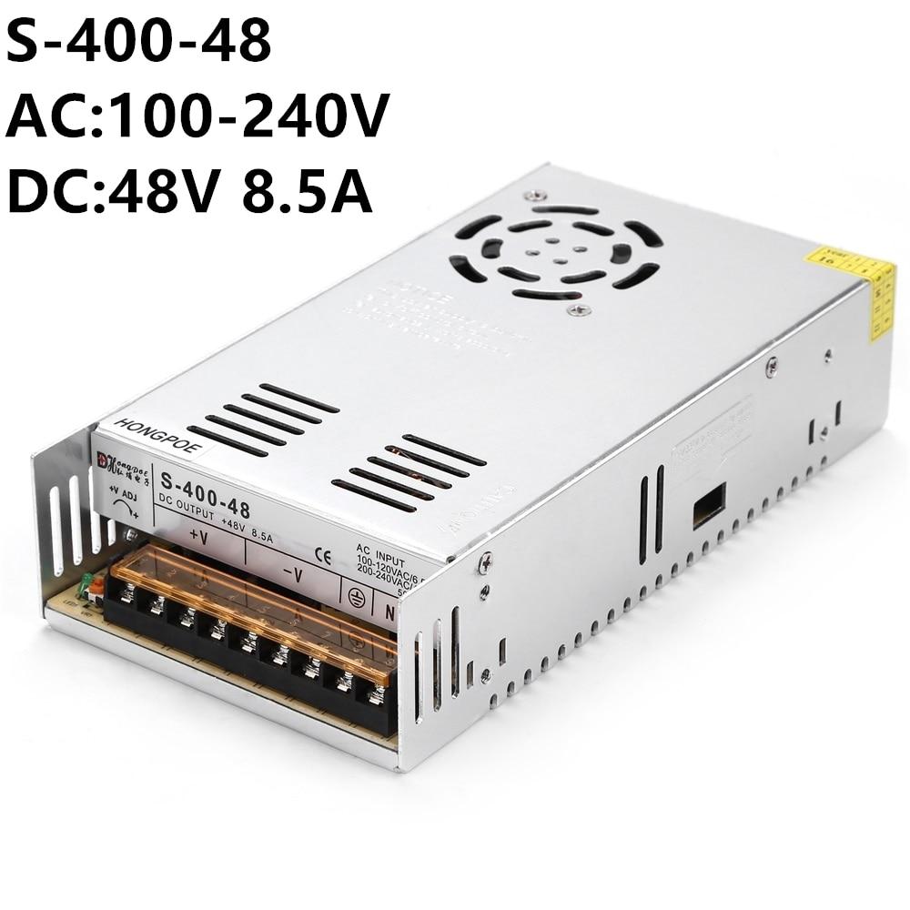 100PCS 400W 48V 36V Switching Power Supply 48V 36V 400W AC-DC 100-240V 48V 8.3A OR 36 11A 400w s400w 36v 11a led switching power supply 36v 11a 85 265ac input ce rosh power suply 36v output