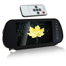 7″ Color TFT LCD Car Rearview Monitor for Camera DVD VCR