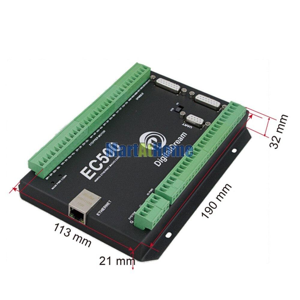 cnc placa de fuga cartão controle movimento