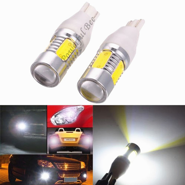 2 X T15/ W16W 15W power cold white led DC12V car reverse lights,  parking lights, free shipping