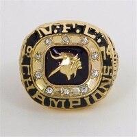 Daihe CR 20522 Fashion Sport Jewelry 1973 Minnesota Vikings National Football Championship Ring For Men Big
