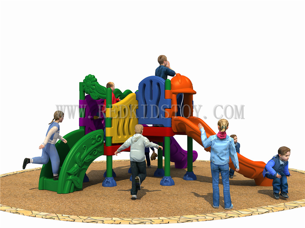 Exported to Panama Nontoxic Plastic Kids Playground CE Certified Plaza De Juegos  HZ-ML165401Exported to Panama Nontoxic Plastic Kids Playground CE Certified Plaza De Juegos  HZ-ML165401