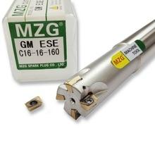 цены на MZG ASM07RC12-12-120-2T JDMT0702 Carbide Inserts Clamped Alloy End Mill Arbor Milling Cutting Machining Shoulder Milling Cutter  в интернет-магазинах
