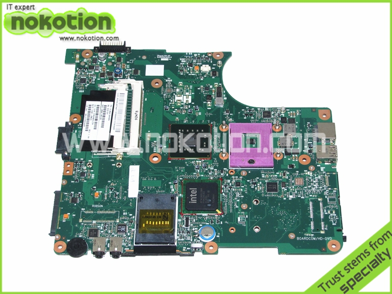 NOKOTION V000138420 1310A2184504 For toshiba Satellite L300 laptop motherboard GM45 DDR2 free shipping nokotion for toshiba satellite a100 a105 motherboard intel 945gm ddr2 without graphics slot sps v000068770 v000069110