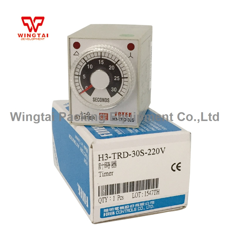 цена на H3-TRD-30S Taiwan Fotek Multi-range On Delay Timer