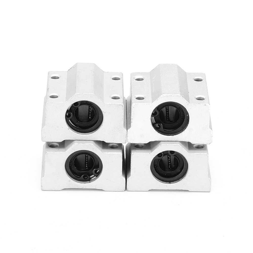 15pcs 400mm OpticalAxis แบริ่งตัวเรือน Linear ราง Rod สไลด์สำหรับ 3D เครื่องพิมพ์แกะสลัก