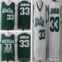 2018 Men Dwayne Cheap Throwback Basketball Jersey Magic Earvin Johnson  33 College  Jerseys Retro Shirts Green Stitched For Mens a99c62c99