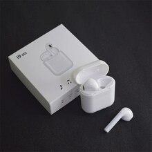 I9 tws bezprzewodowy zestaw słuchawkowy Bluetooth słuchawki stereo słuchawki sportowe z etui z funkcją ładowania dla Iphone Smart Phone słuchawki