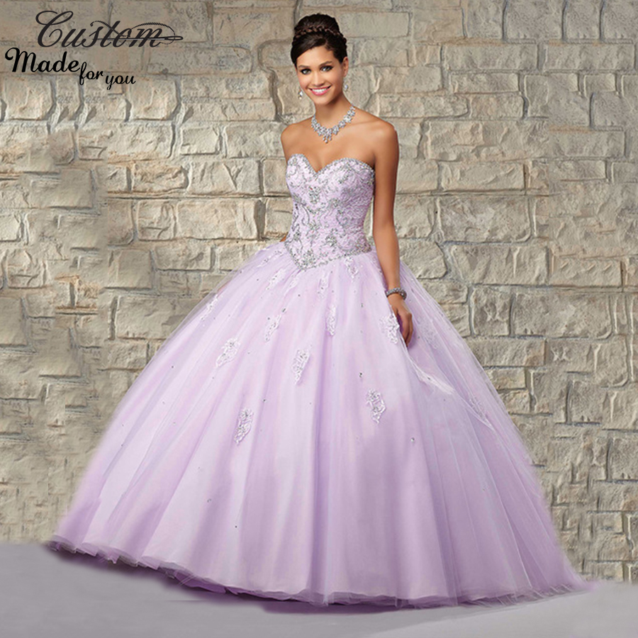 Popular Sweet 16 Dresses Light Purple-Buy Cheap Sweet 16 Dresses ...