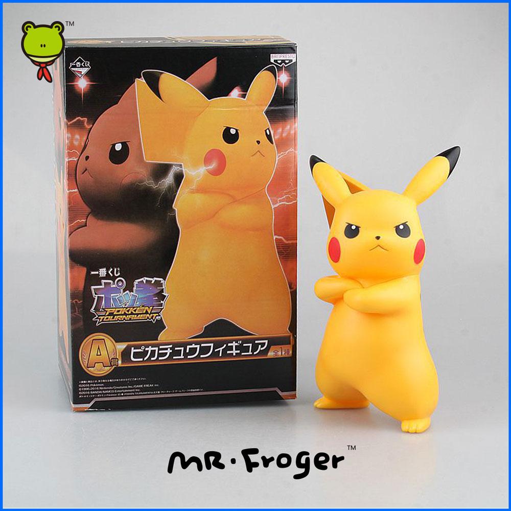 Mr.Froger Pikachu Doll chibi Cute Toy model <font><b>Action</b></font> <font><b>figure</b></font> cartoon <font><b>drawings</b></font> Classic Toys Children Animal Models lovely Gift