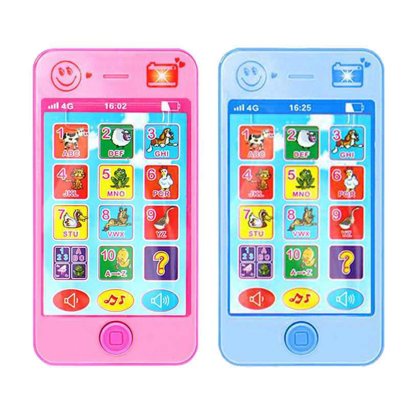 Children Electronic Mobile Phone with Sound Early Learning & Education Machines Music Phone Toy
