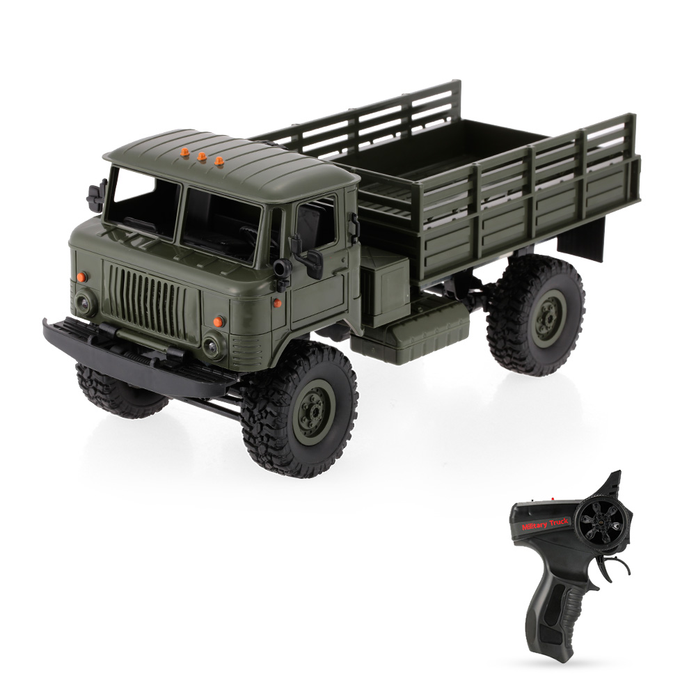 B-24 1/16 2.4GHz RC military Car Truck Off-road Remote Control Army Cars Electric Vehicle With LED Light RTR RC Car Toys Gifts hongnor ofna x3e rtr 1 8 scale rc dune buggy cars electric off road w tenshock motor free shipping