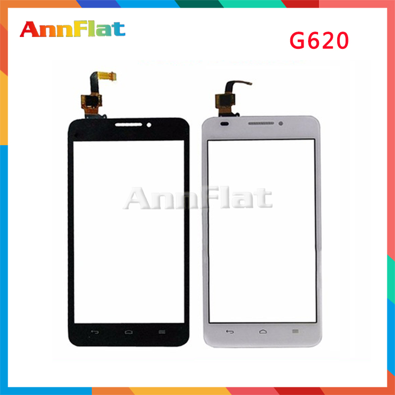 High Quality 5.0 For Huawei Ascend G620 G620S Touch Screen Digitizer Front Glass Lens Sensor Panel Free Shipping