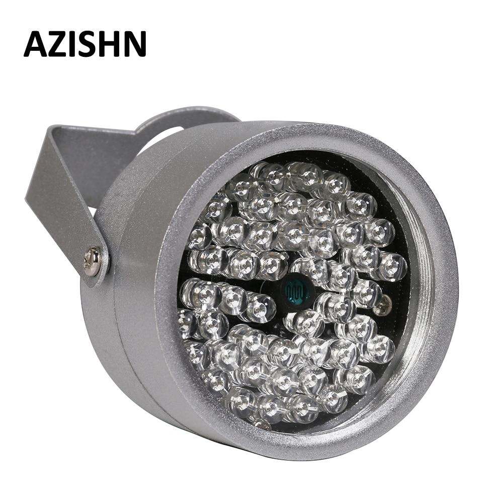 AZISHN CCTV LEDS 48IR illuminator Licht IR Infrarot-nachtsicht metall wasserdichte CCTV Füllen Licht Für CCTV überwachungskamera