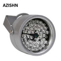 AZISHN CCTV LEDS 48IR illuminateur lumière IR infrarouge Vision nocturne métal étanche CCTV lumière de remplissage pour caméra de Surveillance CCTV