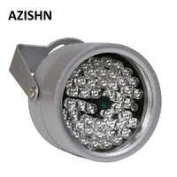 LED de CCTV azisn 48IR iluminador luz IR infrarrojo visión nocturna metal impermeable CCTV Luz de relleno para cámara de vigilancia CCTV