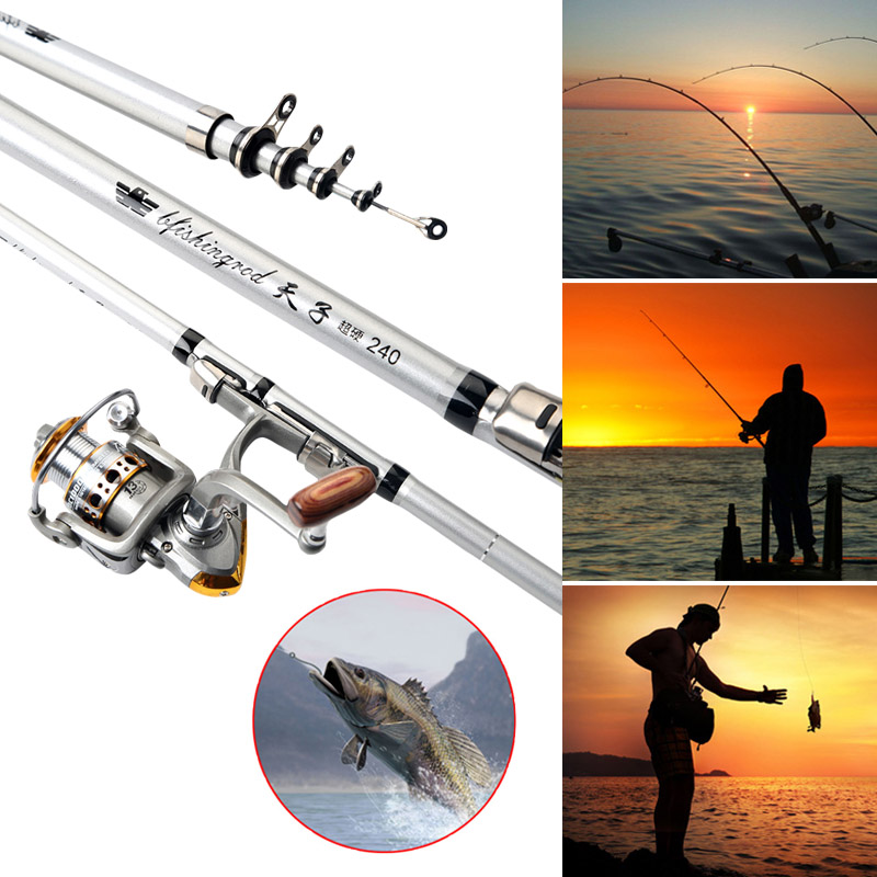 New Stainless Steel Automatic Fishing Rod Professional Sea Lake Fishing Rod Spinning Telescopic Automatic Spring Fishing Pole Mild And Mellow