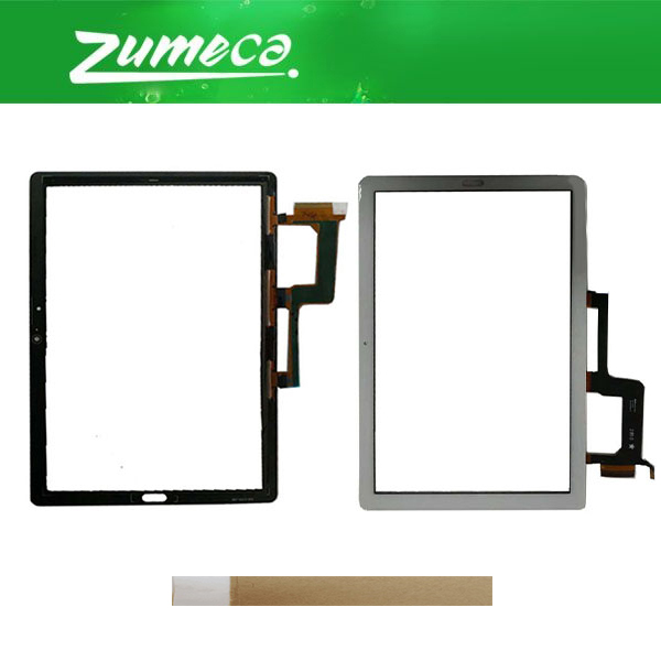 10.1'For Huawei MediaPad M5 Lite 10 BAH2 L09 BAH2 L09C Bach2 L09C Touch Screen Digitizer Panel Lens Glass White Black Color+Tape