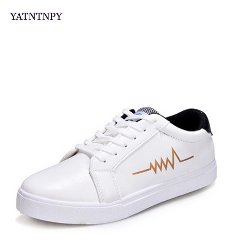 YATNTNPY Brand Men casual Shoes Soft White Black Sneakers Summer Breathable Flat Man Shoes Genuine Split leather shoes ifrich spring summer men leather fashion shoes black white male flat split leather shoes comfortable man casual footwear