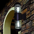 Водонепроницаемый уличный настенный светильник 108*425 мм  16 Вт  для балкона  прохода  виллы  отеля  двора  коридора  алюминия  светодиодный наст...