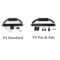 CNC Alloy Hand held PTZ Holder DJI P3 Pro Adv Handheld Gimbal Stabilizer for DJI Phantom 3 Professional Standard Advanced