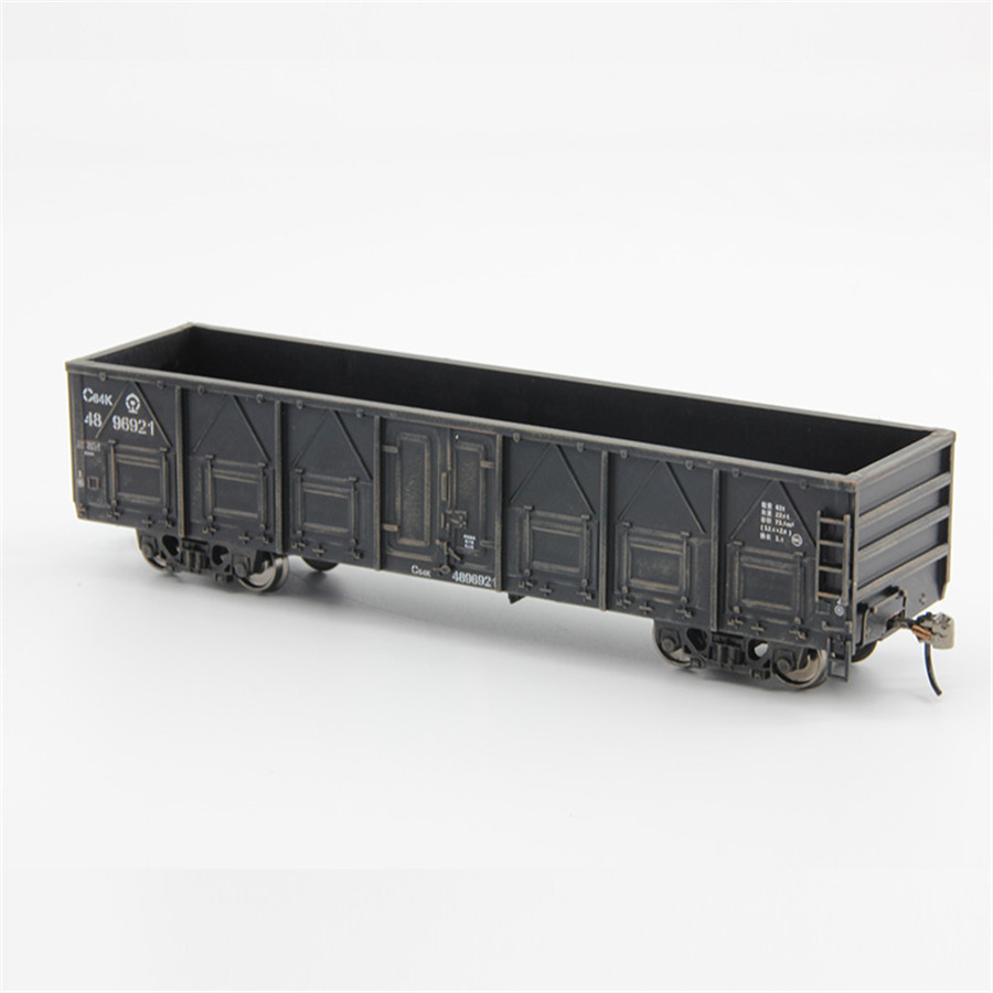 Modello 1:87 HO Container Carriage China Train Model scale C64K Gondola 20ft-in Model Building Kits from Toys & Hobbies    2