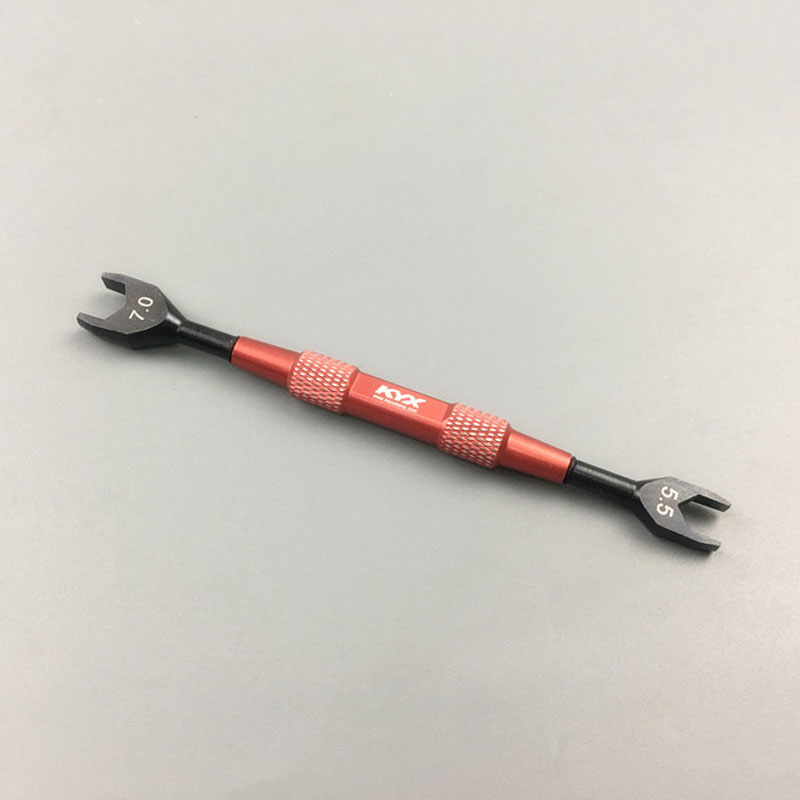 1PC Repair Parts Double Head 5.5 7.0 Open End Wrench Out Hex Mini Wrench Spanner For Model Cars RC Car Accessories1PC Repair Parts Double Head 5.5 7.0 Open End Wrench Out Hex Mini Wrench Spanner For Model Cars RC Car Accessories