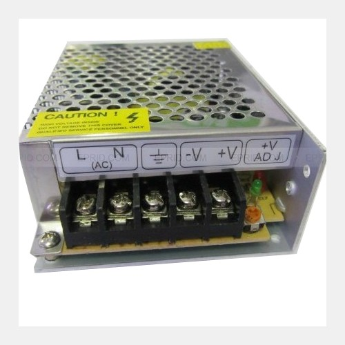 Regulated Power Supply DC 12V 5Amp 60W Switching Transformer Converter For LED Strip Lights, CCTV, Radio, Computer Project