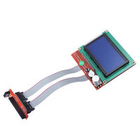 RAMPS 1 4 Controller Control Panel LCD 12864 Display Monitor Motherboard Blue Screen Module New 3D