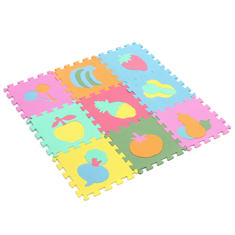 10pcsset carpet baby kids play mat floor mat eva foam carpet play puzzle