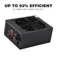 Новый Высокое качество Горячая 2000 Вт модульная добыча Питание PSU для 8 GPU Eth Rig Эфириума Шахтер QJY99