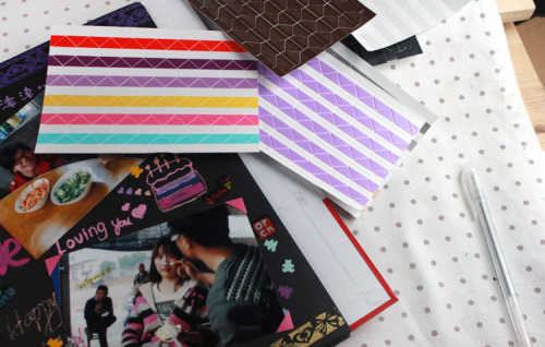 Instax Mini High (102pcs/set)quality Hand-made Material Album Tool Accessories Retro Pvc Photo Corner A Variety Of Color K7450