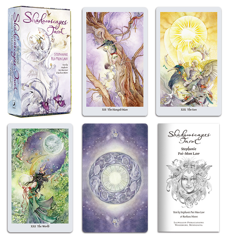 New Full English Version 12*7cm Shadowscapes Tarot Cards Board Party Game Playing Game Cards For Card Games High Quality
