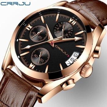 379431497 CRRJU relojes para mujer, relojes de cuarzo de lujo de marca para hombre,  reloj de moda informal luminoso impermeable, reloj deportivo femenino