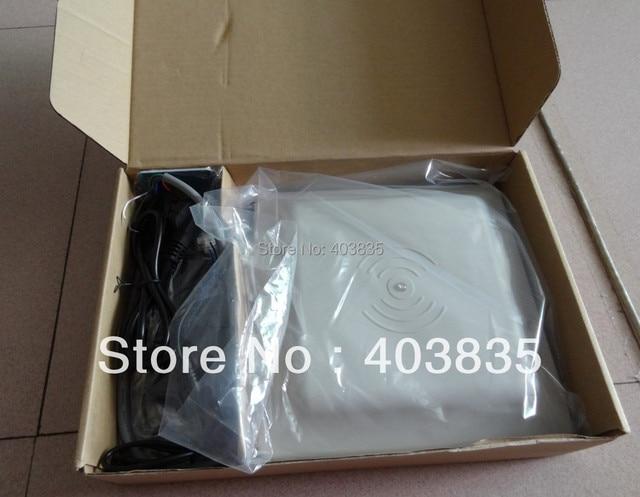 UHF RFID lector de tarjetas 6 m de largo alcance, RS232/RS485/Wiegand Reader