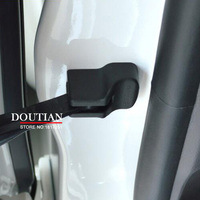 4Pcs Set 3D ABS Chrome Car Covers Door Stopper Protection Cover For Nissan Qashqai J11 2007