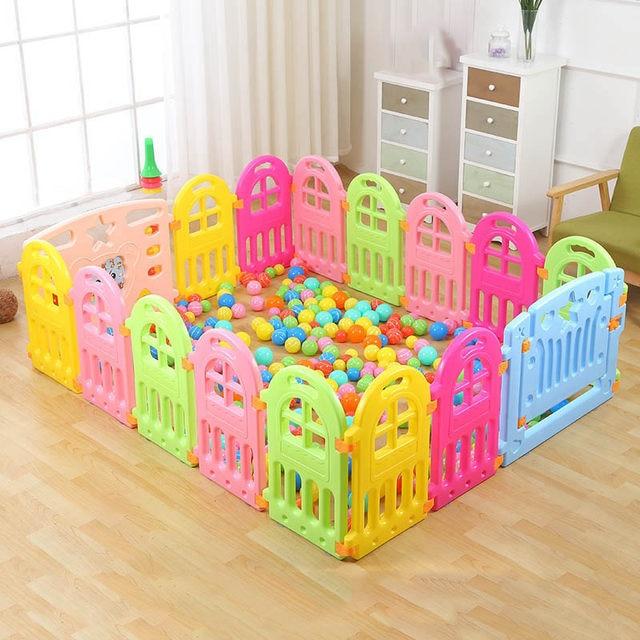 Online Shop Fencing for Children Baby Playpen Fence Playpen Indoor ...