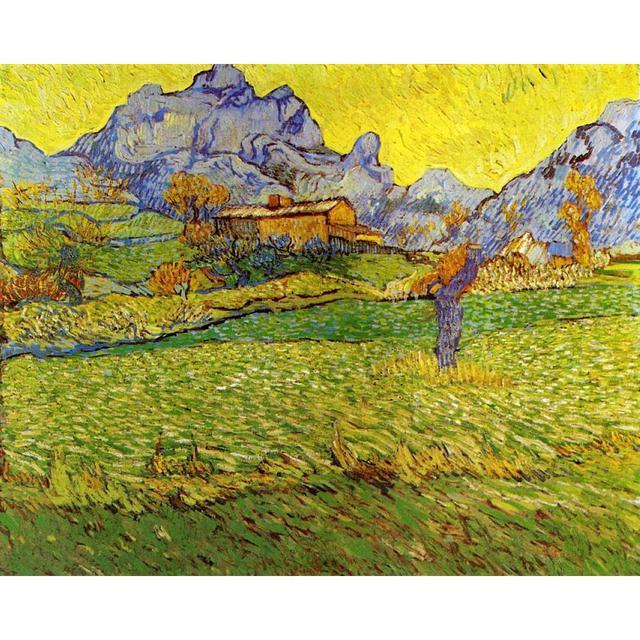 Paesaggi Un Prato nelle Montagne di vincent Van Gogh dipinti ad ...