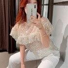 Ladies mesh sequin B...
