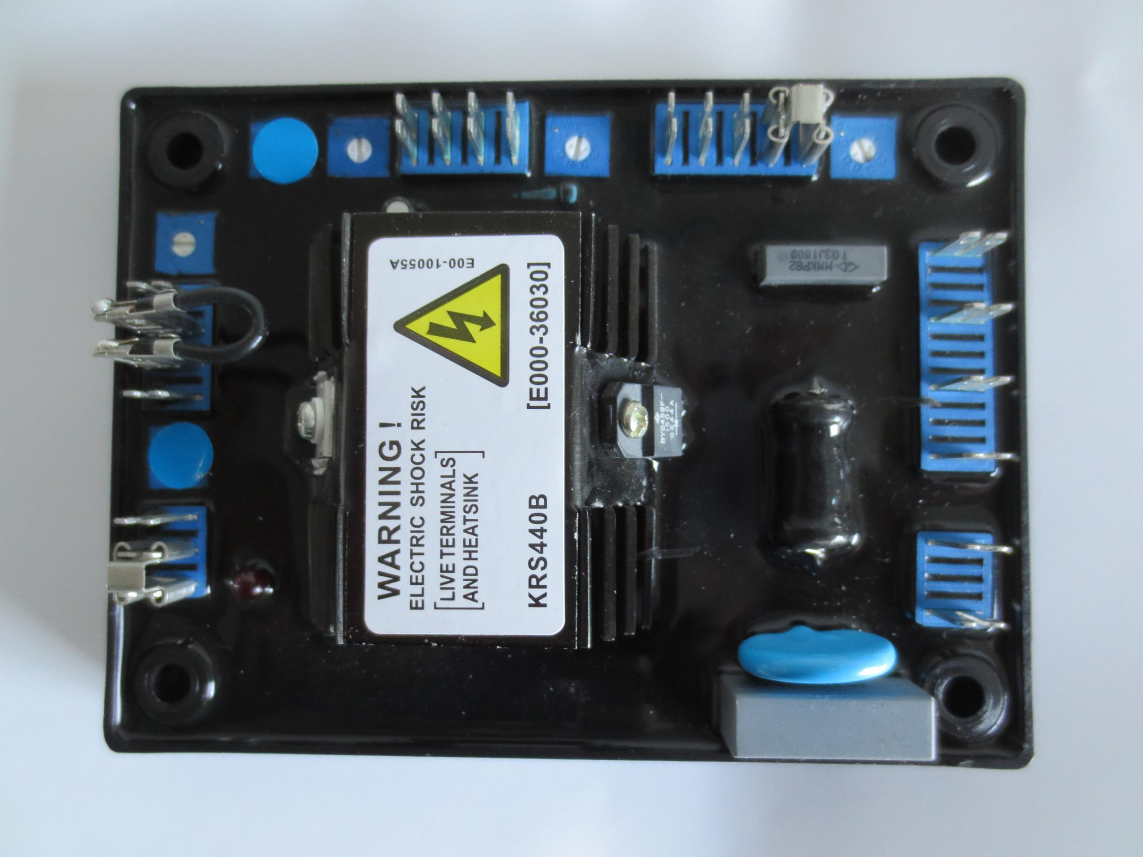 KRS440 KR440 KRS440B brushless excitation Automatic Voltage Regulator plate regulator plate (AVR) набор головок ombra 912709