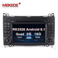 MEKEDE Car Multimedia Player Car DVD GPS player Android 8.1 Stereo System For Mercedes/Benz/Sprinter/W169/B200/B class wifi BT