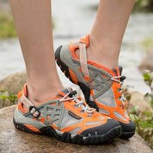 2017 Breathable Light Men's Summer Shoes Sport Outdoor Walking Men Water Shoes zapatos hombre Sandals Aqua Shoes