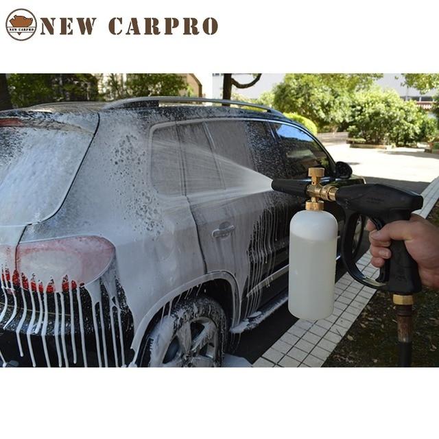 גבוהה לחץ שלג קצף לאנס לאנס K סדרת סבון Foamer מתכוונן זרבובית קצף מקצועי קצף גנרטור רכב מכונת כביסה