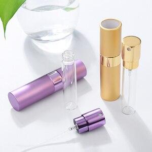 Image 3 - Ag garrafa de perfume de alumínio para viagem, garrafa de viagem portátil vazia para cosméticos