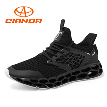 New Arrival Classics Style Men Running Shoes Lace Up Sport Shoes for Male Light Outdoor Jogging Walking Cushioning Man Sneakers цена