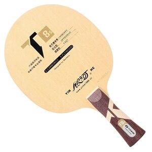 Image 2 - Oryginalne yinhe Galaxy T 8S tenis stołowy Blade Boost (5 drewna + 2 Carbokev) rakietka do ping ponga baza Raquete Raquete De ping pong