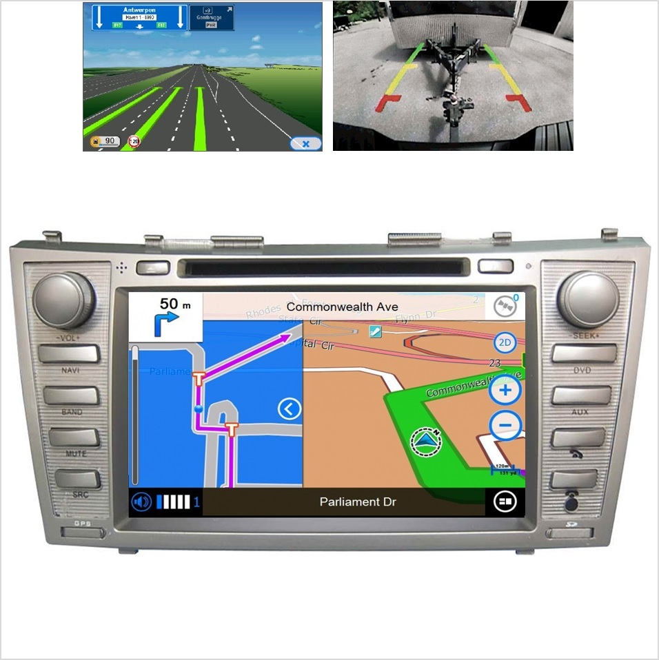 Android car multimedia stereo for toyota camry 2007 2008 2009 2010 2011 radio dvd player gps