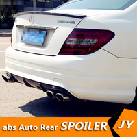 For Mercedes Benz W204 Spoiler Carbon Fiber Material 2008 2014 Spoiler For W204 C class C180 C200L C63 Spoiler