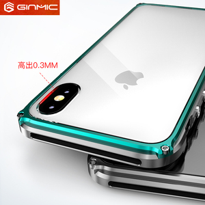 Image 5 - Metal Frame For iPhone 11 Pro Max Case Silm Clear Hard Plastics Back Armor Cover for iPhone XS Max XR Ultra Thin Accessories